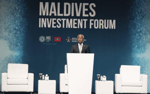"""الصورة: الصورة: رئيس المالديف: """"إكسبو دبي"""" خارطة طريق طموحة لتحفيز النمو الاقتصادي العالمي"""