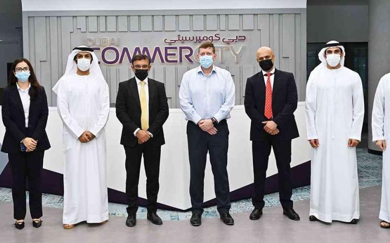 الصورة: الصورة: دبي كوميرسيتي توقّع مذكرة تفاهم مع «المشرق» لدعم نمو الشركات الصغيرة والمتوسطة