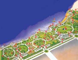 حديقة الخور متنفس قلب دبي التجاري مسارات البيان
