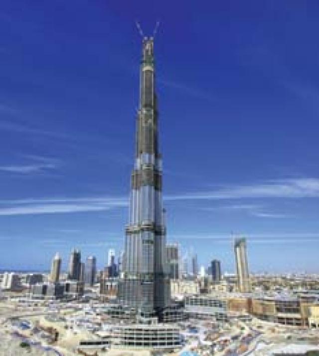 نتيجة بحث الصور عن إخلاء برج خليفة